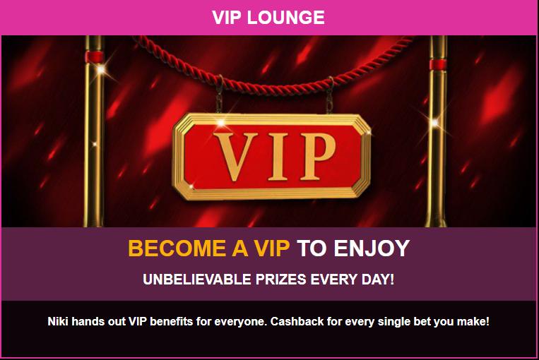 LuckyNIki- VIP Lounge